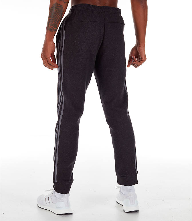 Back Left view of Men's adidas Essentials Jogger Pants in Black