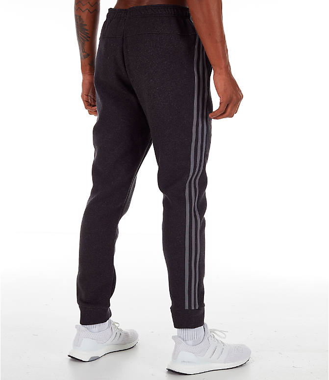 Back Right view of Men's adidas Essentials Jogger Pants in Black