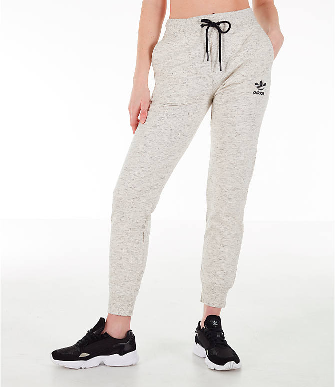 e2450586f119 Front view of Women's adidas Originals Jogger Pants in Off White