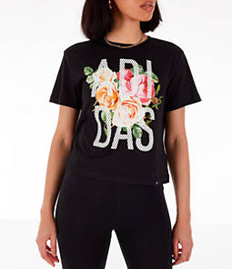 Women's adidas Floral Essential T-Shirt