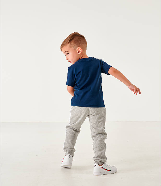 Back Left view of Infant and Toddler Kids' adidas Originals Colorado T-Shirt in Navy