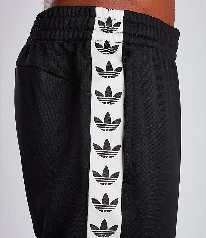 Detail 2 view of Men's adidas Tape Track Pants in Black/White