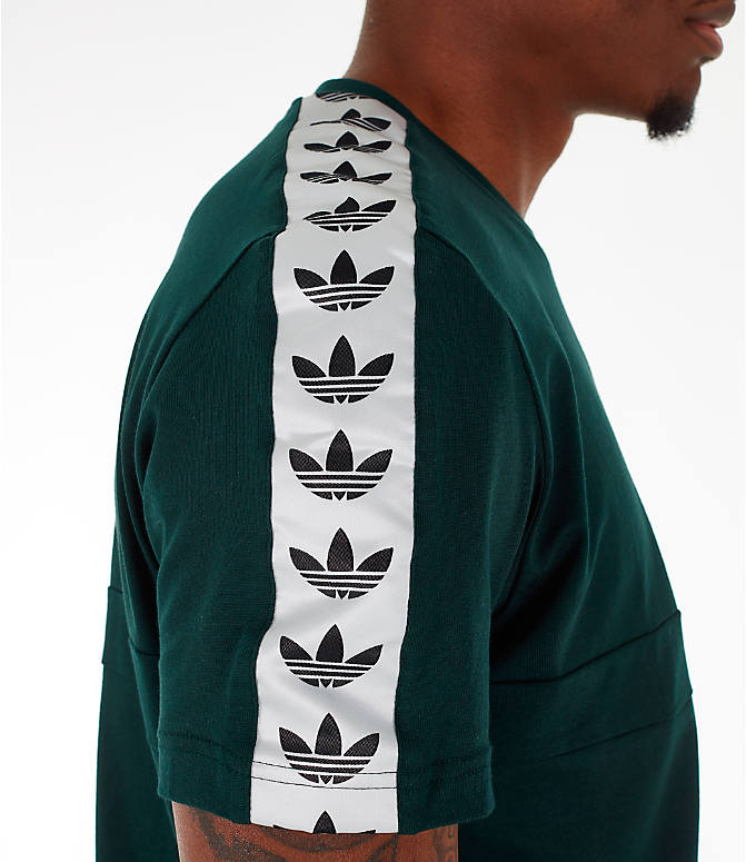 Detail 2 view of Men's adidas Originals Itasca Tape T-Shirt in Green Night