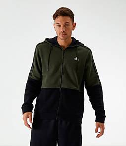 Men's adidas Essentials Linear Full-Zip Hoodie