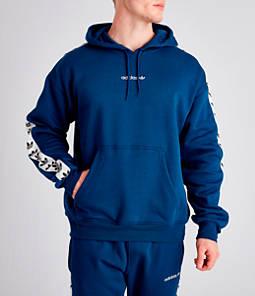 Men's adidas Originals Trefoil Tape Pullover Hoodie