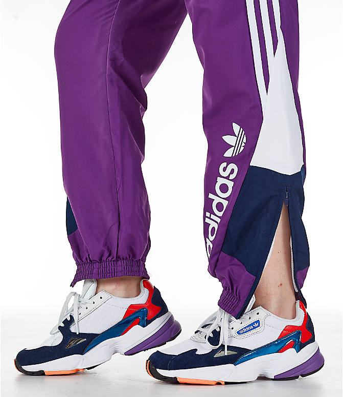 Detail 1 view of Women s adidas Originals 90 s Track Pants in Purple Navy ecf68a5323