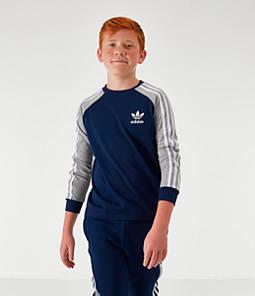 Kids' adidas Originals Cali Long-Sleeve Shirt