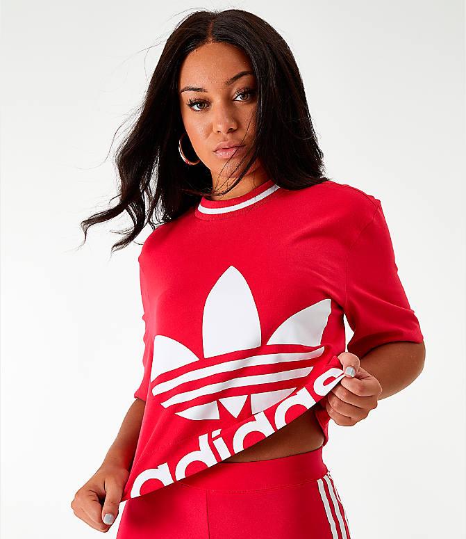 Women's adidas Originals Bellista Cropped T Shirt