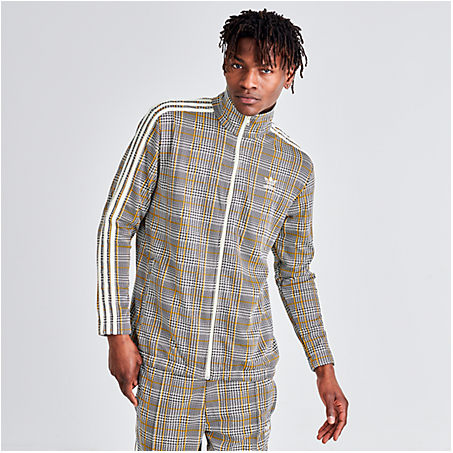 Adidas Originals Jackets ADIDAS MEN'S ORIGINALS TARTAN TRACK JACKET SIZE 2X-LARGE POLYESTER
