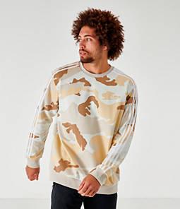 Men's adidas Originals Camouflage Crewneck Sweatshirt