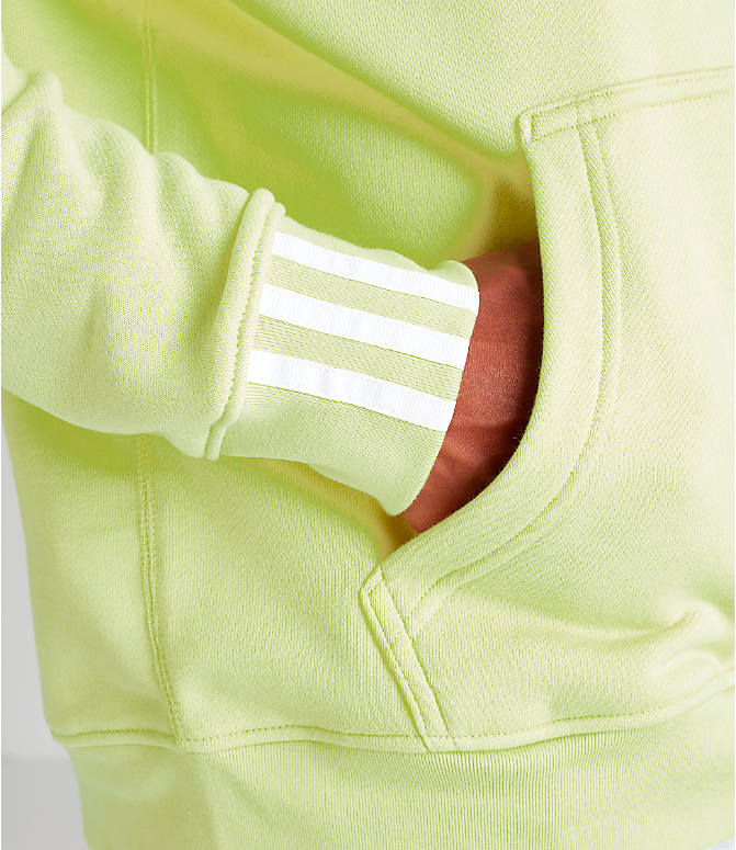 Detail 2 view of Men's adidas Originals R.Y.V. Hoodie in Ice Yellow