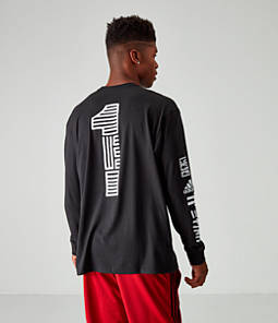Men's adidas Adi One Team Long-Sleeve T-Shirt