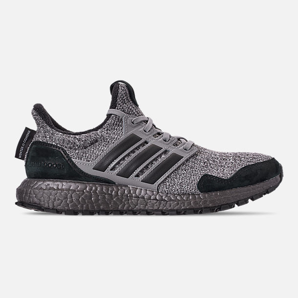 2a228a093 Right view of Men's adidas UltraBOOST S&L Running Shoes in Trace Grey/Wool  Grey/