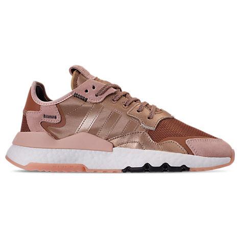 Adidas Originals Shoes WOMEN'S ORIGINALS NITE JOGGER CASUAL SHOES, PINK - SIZE 10.0