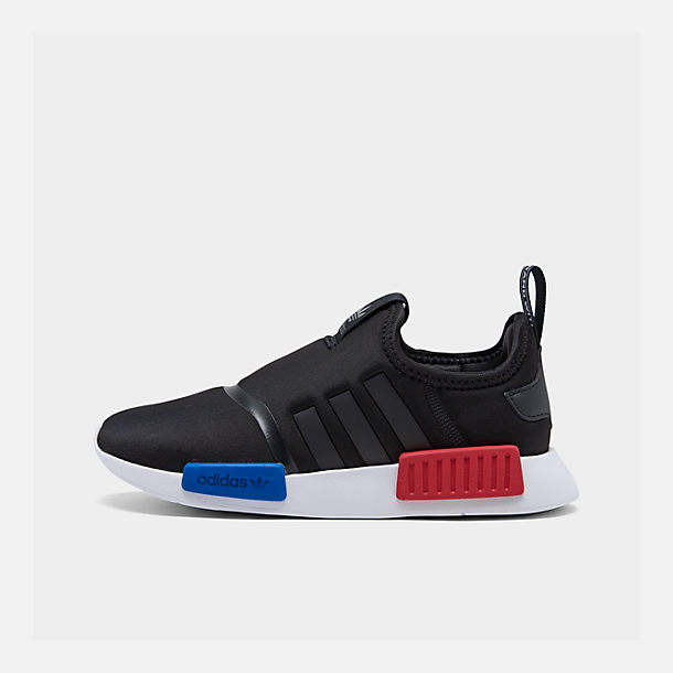 Right view of Boys' Little Kids' adidas Originals NMD 360 Casual Shoes in Core Black/Core Black/Footwear White