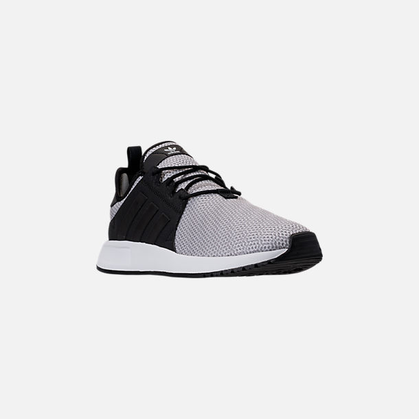 Three Quarter view of Men's adidas Originals X_PLR Casual Shoes in White/Solid Grey/Black