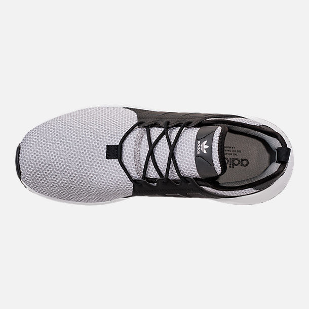 Top view of Men's adidas Originals X_PLR Casual Shoes in White/Solid Grey/Black