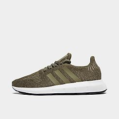 Shop Adidas Mens Swift Run Barrier Athletic Shoes Free