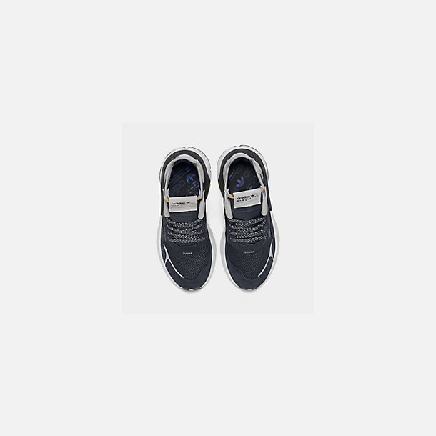 2341548aa856e Back view of Big Kids  adidas Originals Nite Jogger Casual Shoes in  Navy Legend