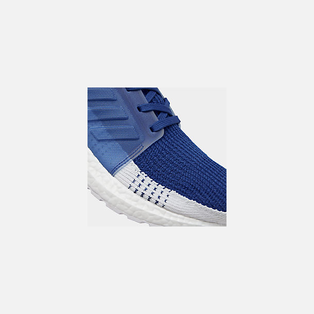 1f0e69bf0aecee Front view of Men's adidas UltraBOOST 19 Running Shoes in Footwear White/Footwear  White/