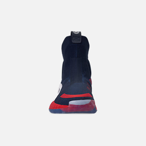 4765daa1629a Front view of Men s adidas N3xt L3v3l X Marvel s Captain America Basketball  Shoes in Collegiate Navy