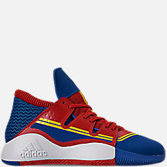 Men's adidas Pro Vision X Marvel's Captain Marvel Basketball Shoes