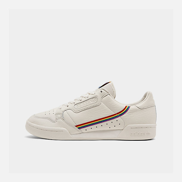 Right view of Men's adidas Originals Continental 80 Pride Casual Shoes in Blue Tint/Blue Tint/Blue Tint