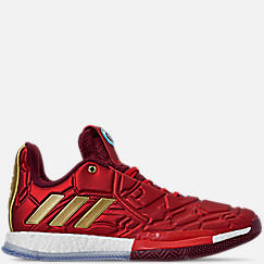 official photos ce527 5aa16 Men s adidas Harden Vol.3 X Marvel s Iron Man Basketball Shoes