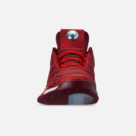 7e0a6b8be56 Front view of Men s adidas Harden Vol.3 X Marvel s Iron Man Basketball Shoes  in