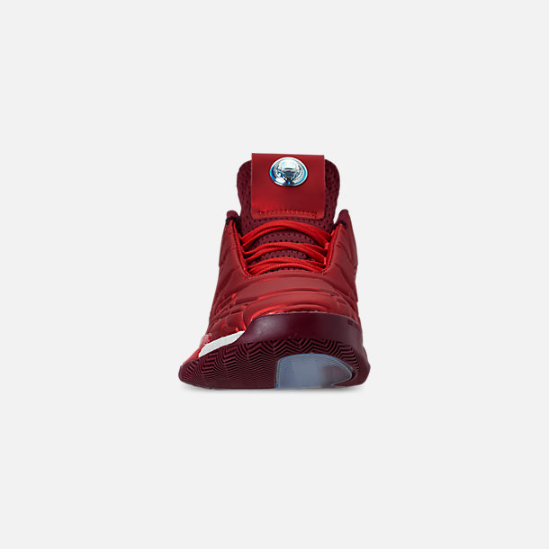 new product fb306 1ff90 Front view of Men s adidas Harden Vol.3 X Marvel s Iron Man Basketball  Shoes in