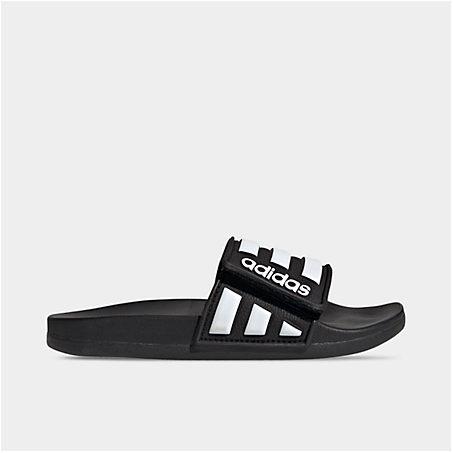 Adidas Originals Sandals ADIDAS BIG KIDS' ADILETTE COMFORT ADJUSTABLE SLIDE SANDALS