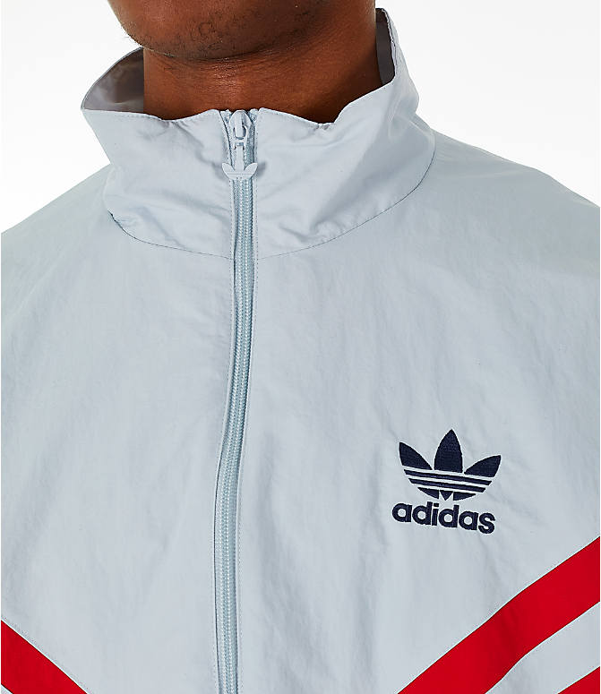 Detail 1 view of Men's adidas Originals Sportivo Track Jacket in Collegiate Navy/White/Red