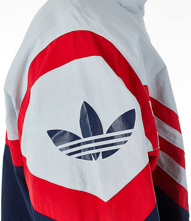 Detail 2 view of Men's adidas Originals Sportivo Track Jacket in Collegiate Navy/White/Red