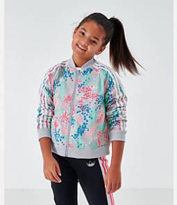 Girls' adidas Originals Cropped SST Track Jacket