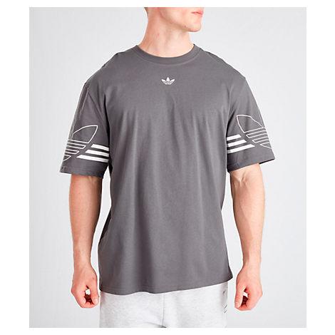 Adidas Originals Adidas Men's Originals Spirit Outline T-Shirt In Grey