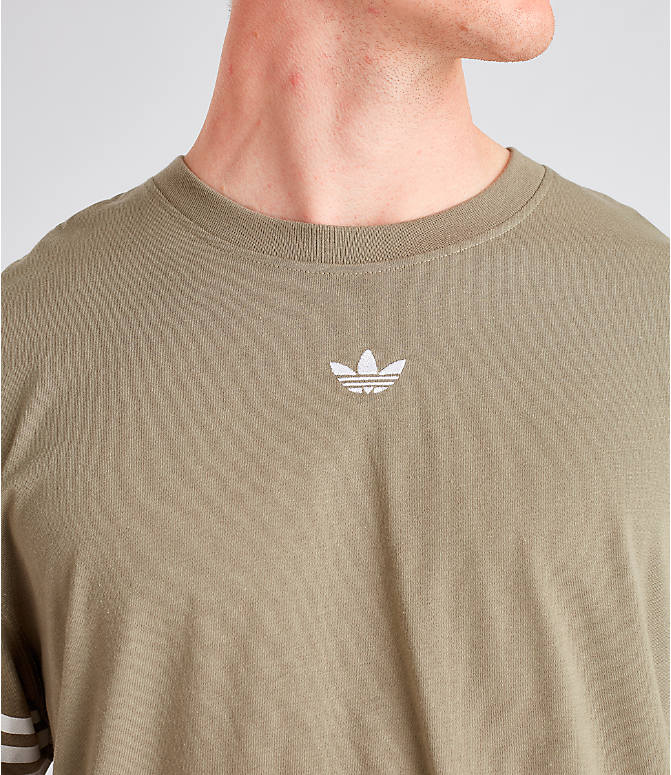 Detail 1 view of Men's adidas Originals Spirit Outline T-Shirt in Trace Cargo