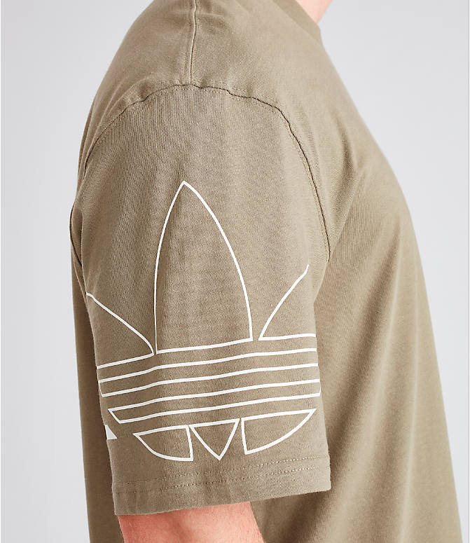 Detail 2 view of Men's adidas Originals Spirit Outline T-Shirt in Trace Cargo
