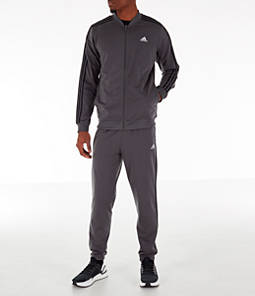 Men's adidas 3-Stripes Poly Track Suit