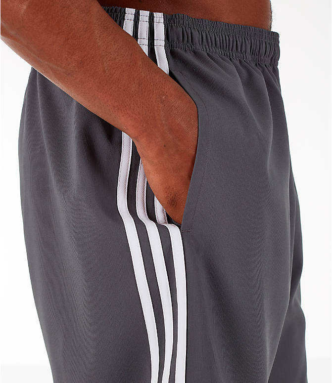 Detail 2 view of Men's adidas 3-Stripes Woven Shorts in Grey