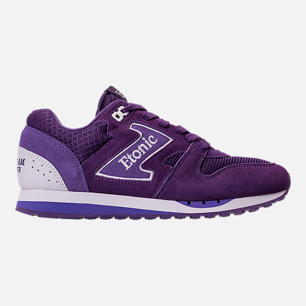 Right view of Men's Etonic Trans Am Grad Casual Shoes in Purple/White