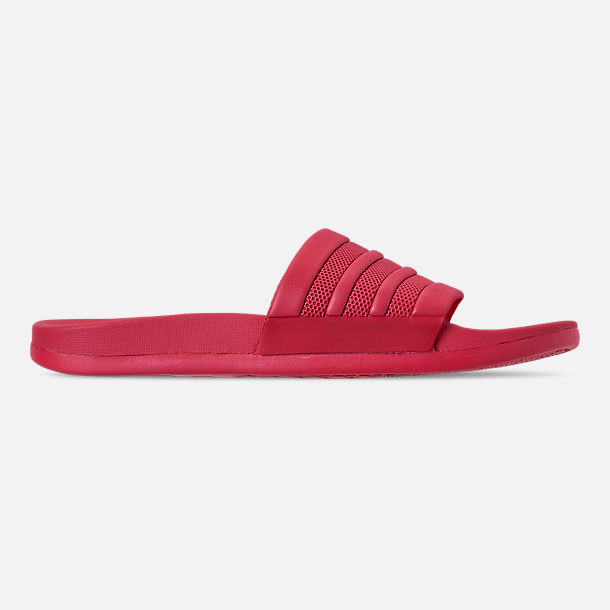 1724049eac7d Right view of Women s adidas Adilette Comfort Slide Sandals in Active  Pink Active Pink