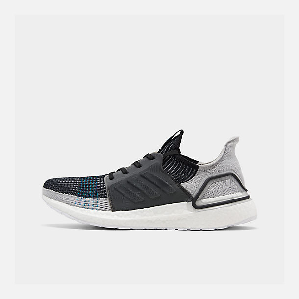 a59ae8d15602b Right view of Men s adidas UltraBOOST 19 Running Shoes in Core Black Grey  Six