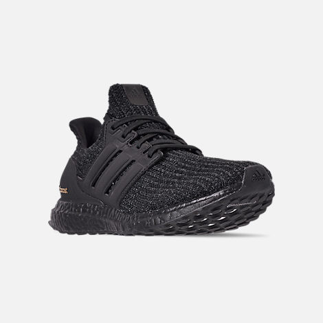 Three Quarter view of Women's adidas UltraBOOST 4.0 International Women's Day Running Shoes in International Women's Day