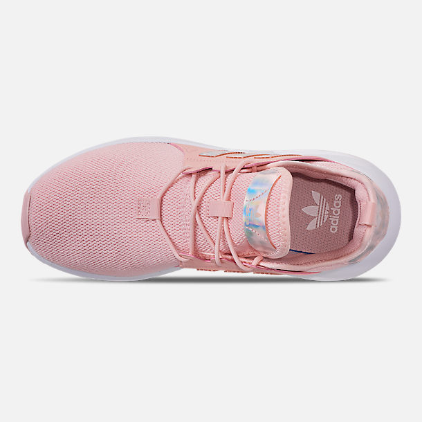 1e4dbdf6cd3c6 Top view of Girls' Big Kids' adidas Originals X_PLR Casual Shoes in Icey  Pink