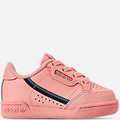 Girls' Toddler adidas Continental 80 Casual Shoes