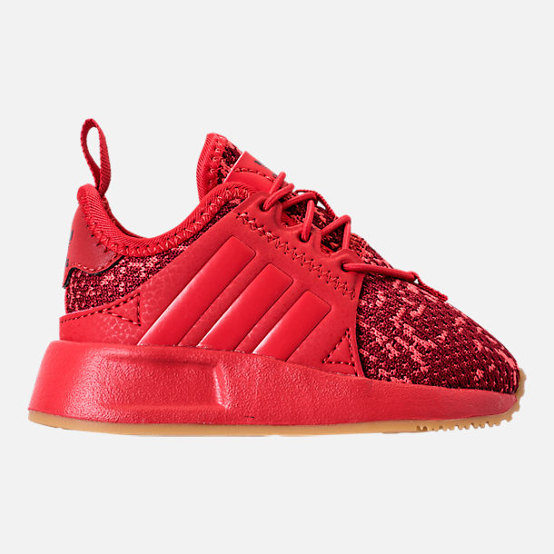 02b2c996926b Right view of Boys  Toddler adidas Originals X PLR Casual Shoes in  Scarlet Collegiate Burgundy