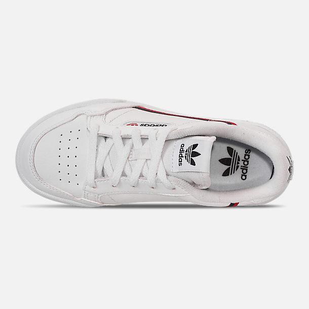 844ee4ebb82 Top view of Boys  Big Kids  adidas Originals Continental 80 Casual Shoes in  Footwear
