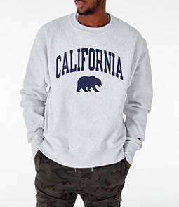 Men's Champion Cal Golden Bears College Reverse Weave Crewneck Sweatshirt