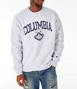 Men's Champion Columbia Lions College Reverse Weave Crewneck Sweatshirt