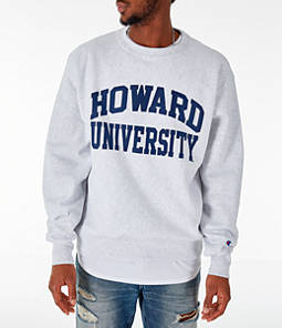 Men's Champion Howard Bison College Reverse Weave Crewneck Sweatshirt
